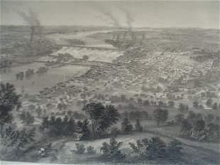 Birdseye View of Richmond Virginia & Vicinity