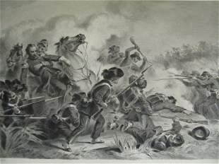 Battle of Wilson's Creek, MO - Death of Lyon