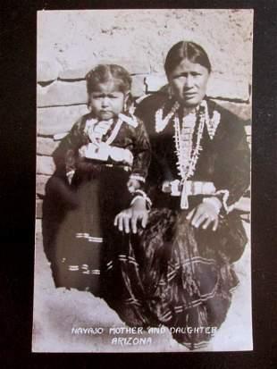 Navajo Mother and Daughter Arizona