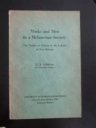 Masks & Men in a Melanesian Society