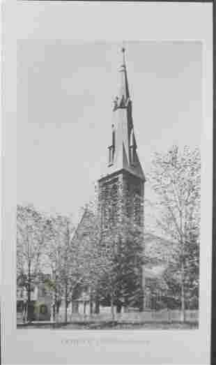 Catholic Church Goshen NY 1893