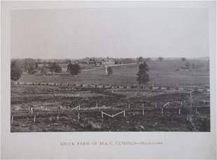 Stock Farm of Ira C. Cumings - Middletown NY 1893
