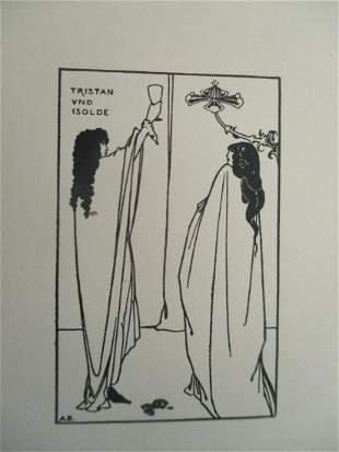 Tristan Und Isolde - Aubrey Beardsley 1872 - 1898