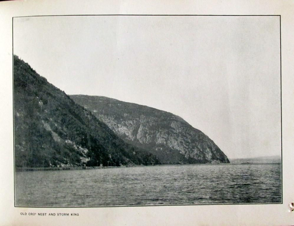 Old Cro's (Crows) Nest and Storm King Hudson River