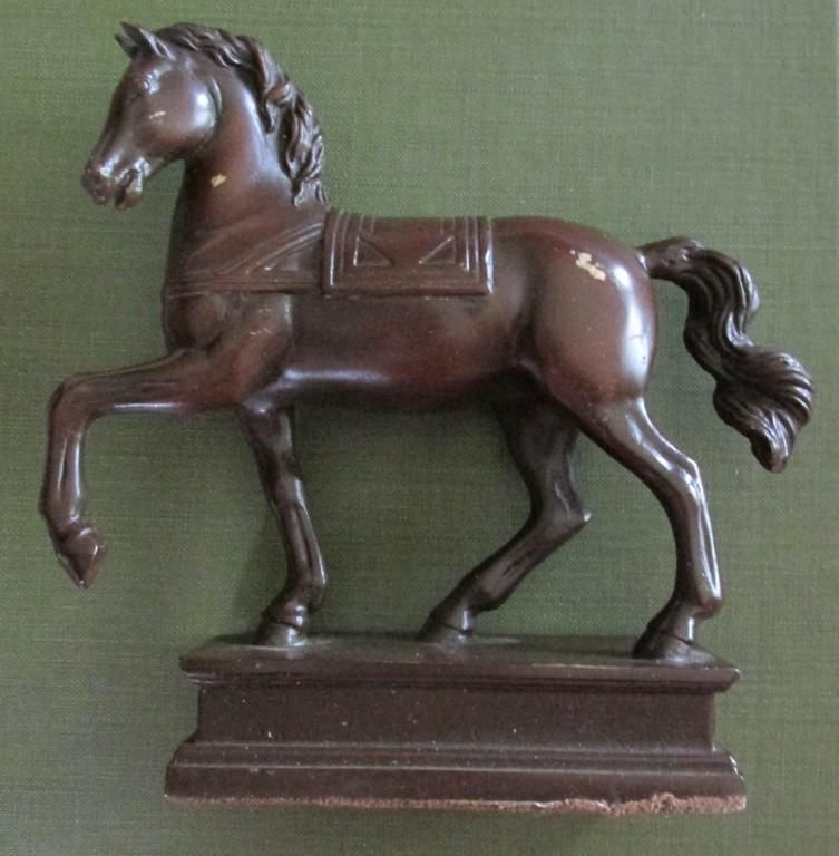 Bronze Prancing Horse
