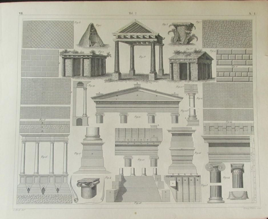 Architectural Engraving - General Considerations