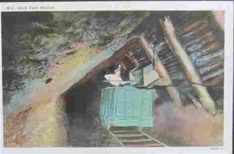 6 Coal Mining Postcards