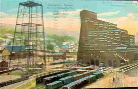 Nottingham Breaker No. 15 Coal Co. RPPC