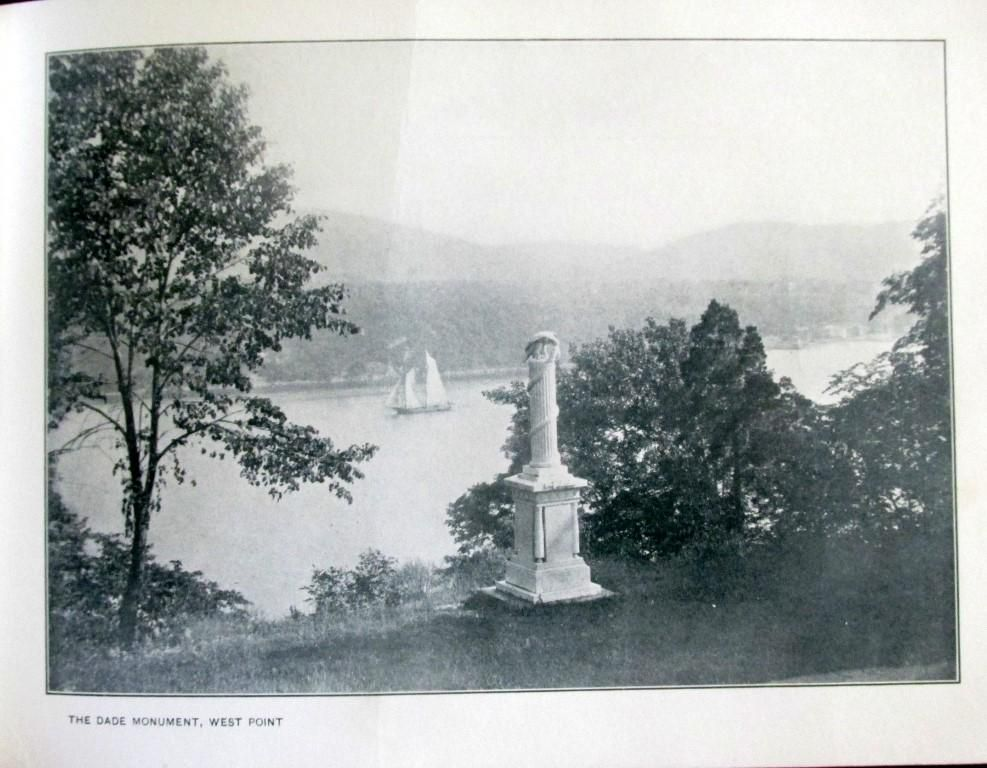 The Dade Monument West Point - Hudson River
