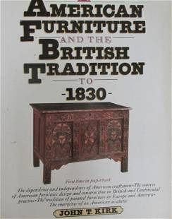 American Furniture & the British Tradition to 1830