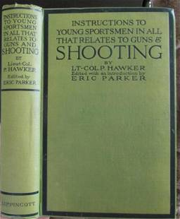 Instructions to Young Sportsmen Shooting
