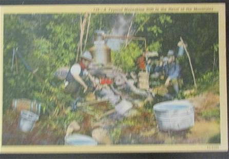 A Typical Moonshine Still In The Mountains