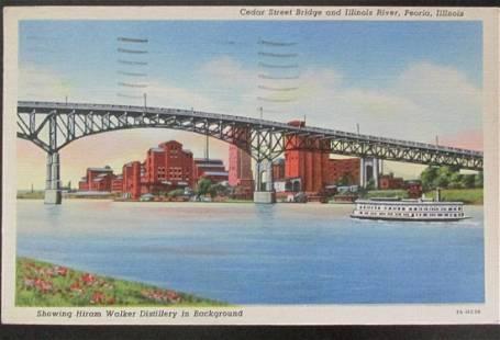 Hiram Walker Distillery - Peoria Illinois