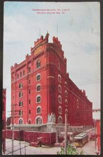 Anheuser Busch St. Louis Stock House No. 10