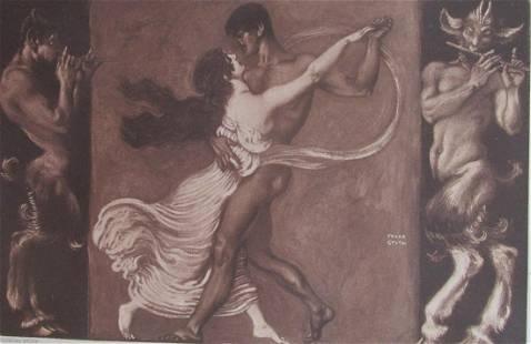 Franz Von Stuck - The Dance (Der Tanz)
