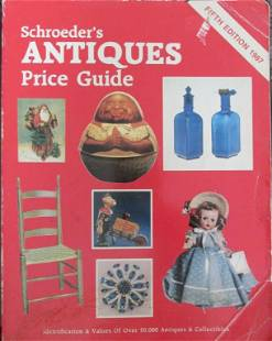 2 Volumes of Schroeder's Antiques Price Guide