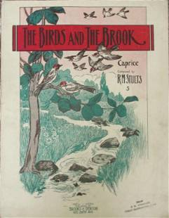 The Birds and The Brook [Sheet Music 1893]