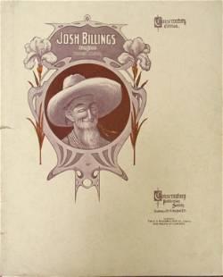 Josh Billings Barn Dance [Sheet Music 1905]