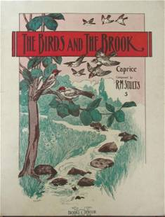 The Birds and the Brook [Sheet Music 1910]