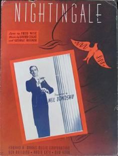 Nightingale (Xavier Cugat) [Sheet Music 1946]