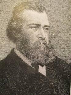 Portrait of Jean Francois Millet
