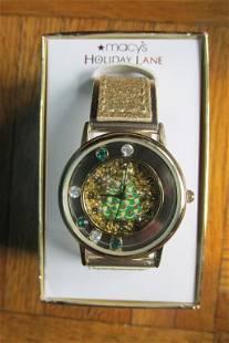 Macy's Holiday Lane Watch in Original Box
