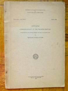 Adam ~ Religious Play of the Twelfth Century