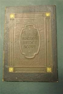 Perpetual Auction Bridge Score