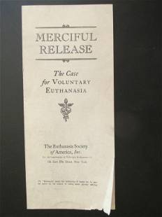 Merciful Release - Euthanasia