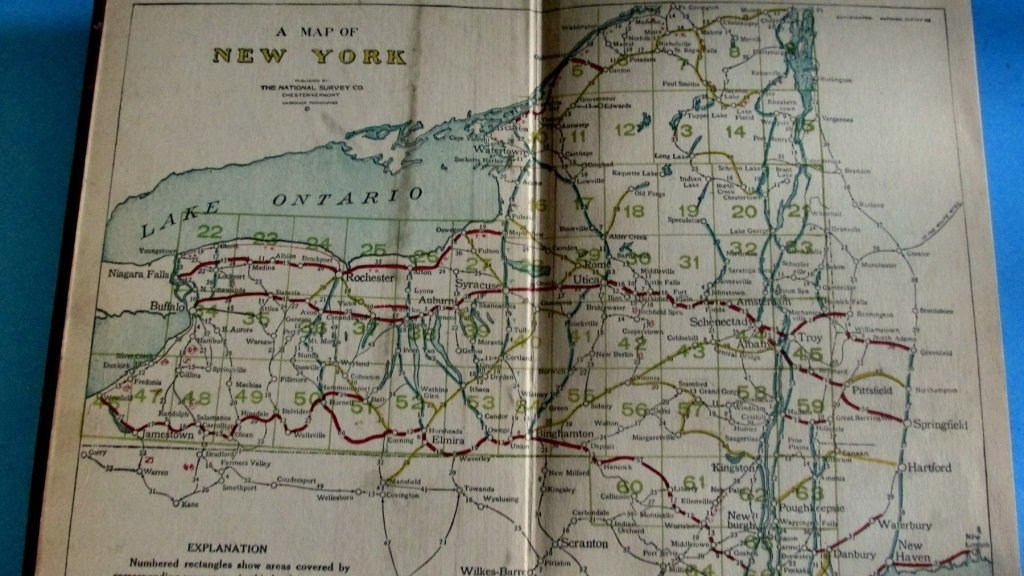Official Maps of New York - 2