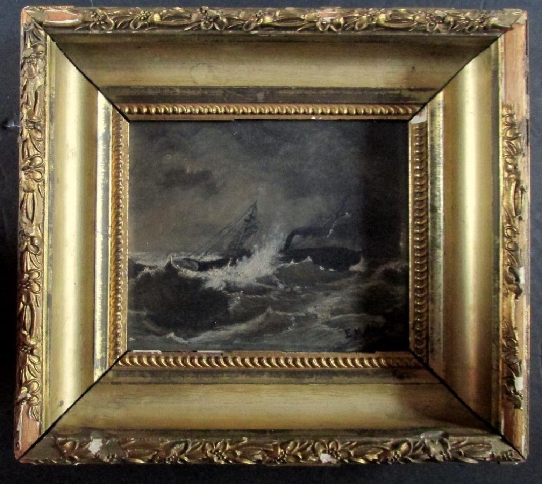 USS Tahoma - Civil War Gunboat O/B
