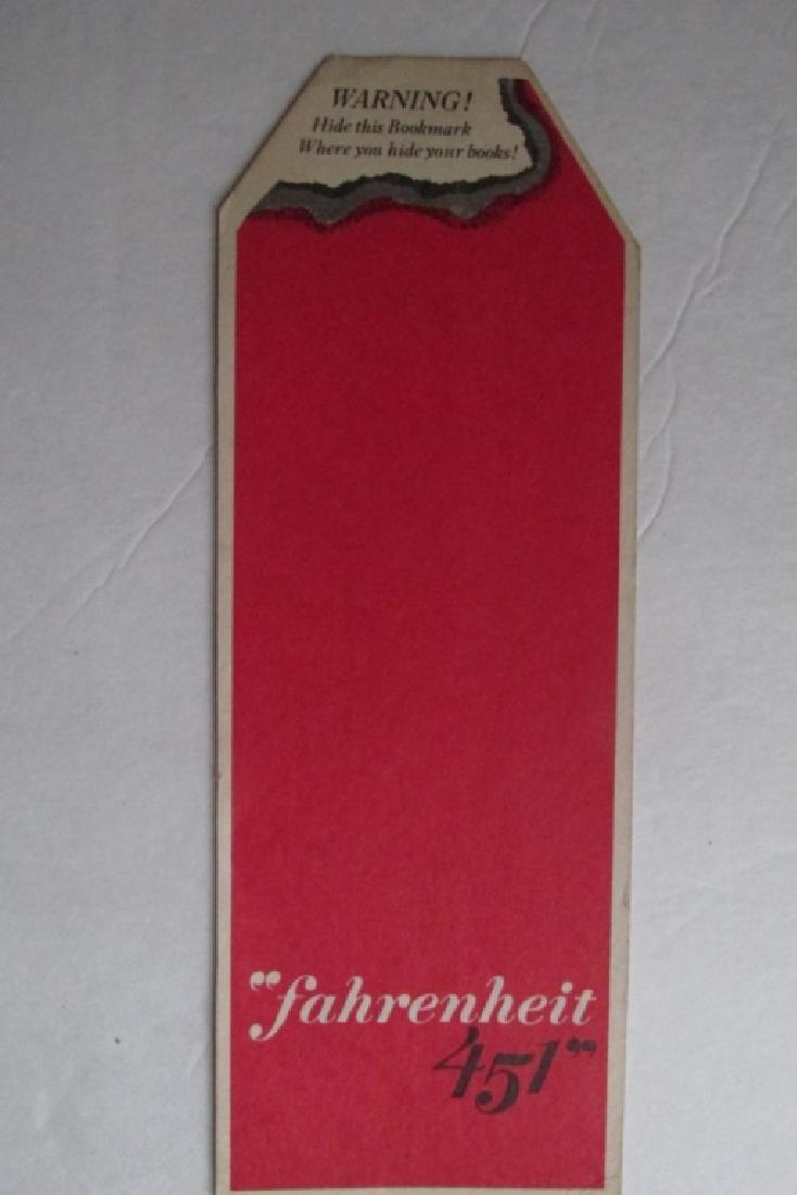 Ray Bradbury Movie Fahrenheit 451 Bookmark