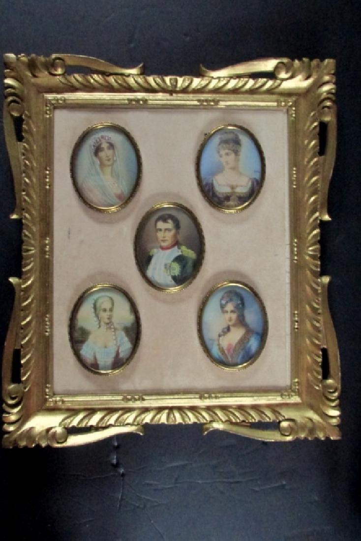 Napoleon Bonaparte Family Miniatures