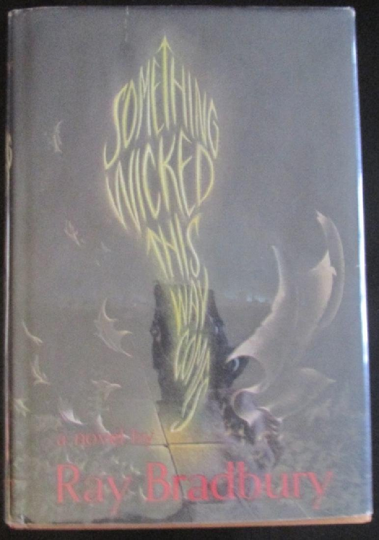 Something Wicked This Way Comes Ray Bradbury 1st Signed