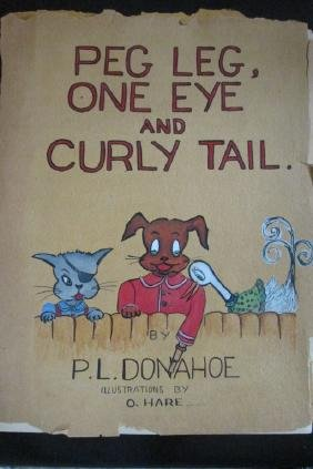 Original Galley for Peg Leg One Eye & Curly Tail