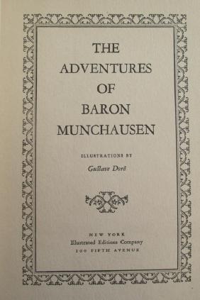 Adventures of Baron Munchausen ~ Gustave Dore