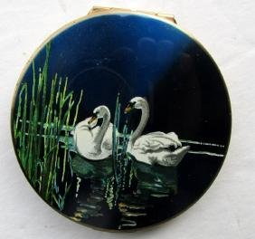 Two Swans English Stratton Compact