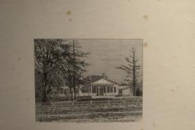 Lot of Early Views of Massachusetts Houses