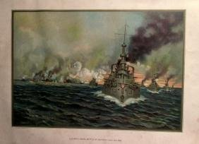 US Navy Naval Battle of Santiago 1898