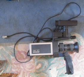 Vintage RCA Color Video Camera
