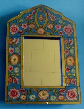 Moroccan Folk Art Mirror