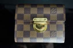 Louis Vuitton Damier Ebene Koala Wallet