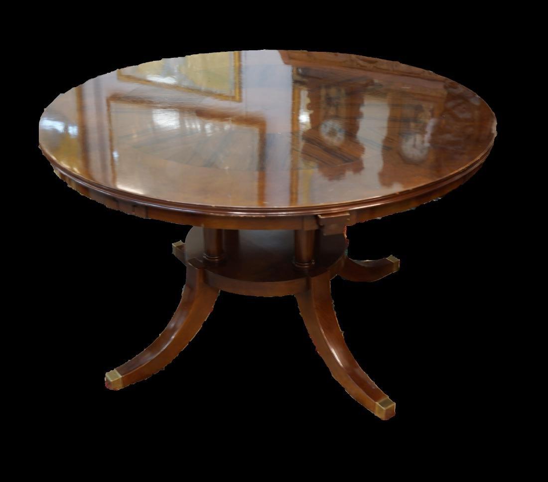 Matchbook Veneer Table