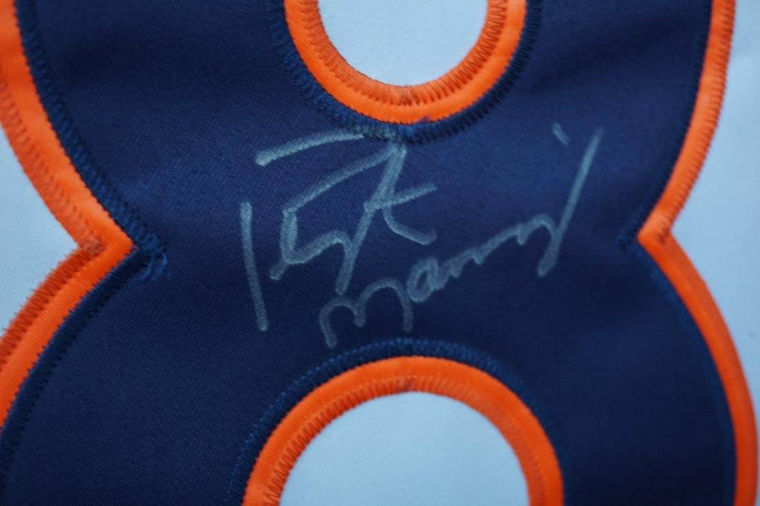 Signed Peyton Manning Broncos Jersey with COA - 3