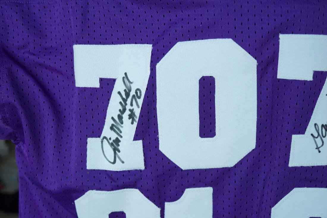 Purple People Eater Signed Jersey with JSA COA - 3