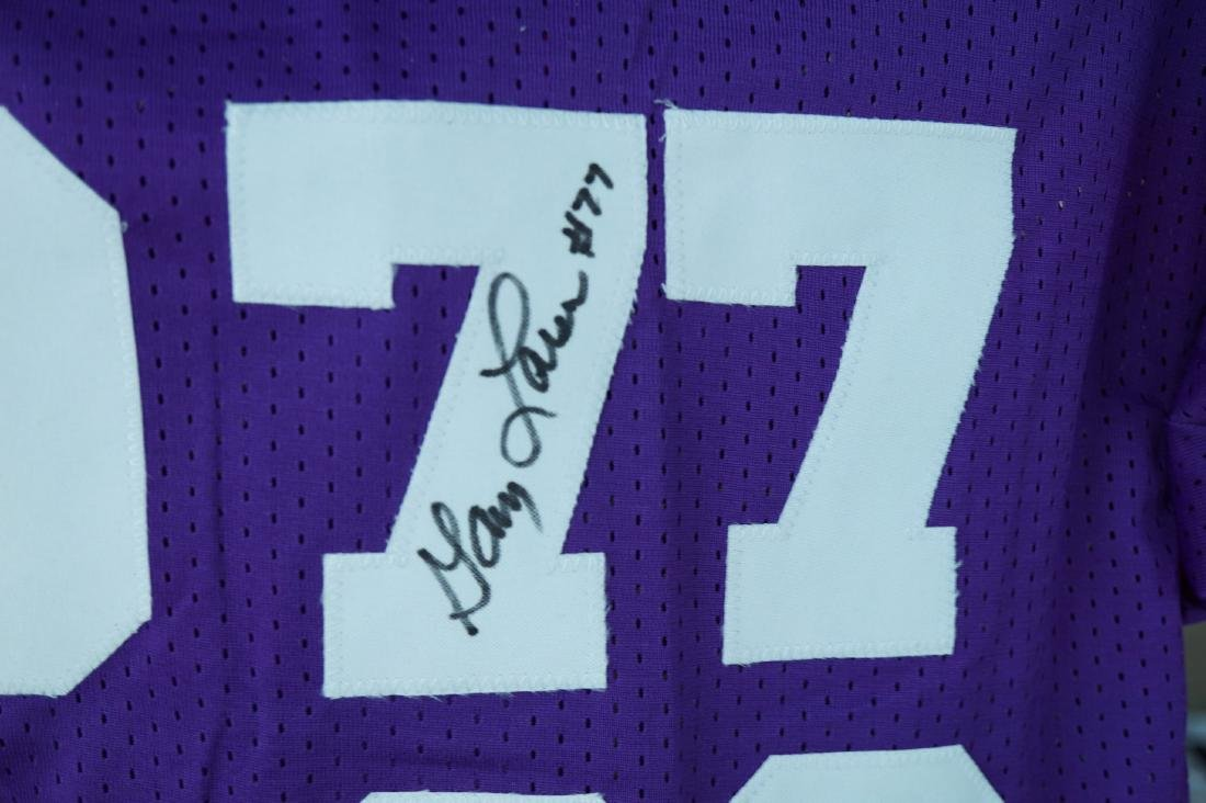 Purple People Eater Signed Jersey with JSA COA - 4