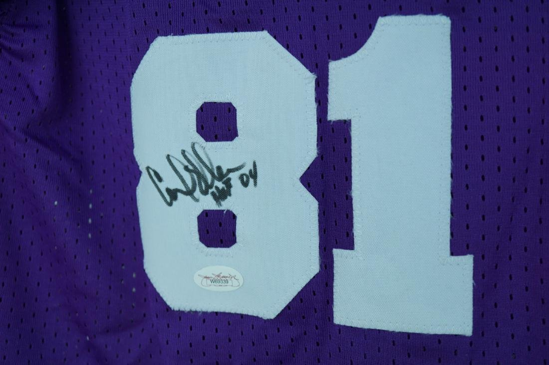 Purple People Eater Signed Jersey with JSA COA - 5