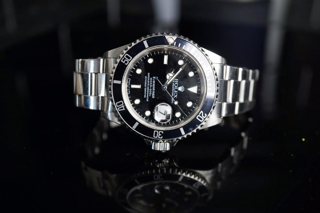 Stainless Steel Rolex Submariner