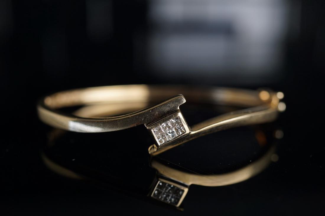 Diamond and Gold Bracelet - 2