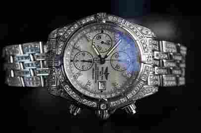 Breitling Chronomat Evolution with Diamonds